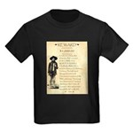 Wanted Cherokee Bill Kids Dark T-Shirt