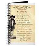 Wanted Cherokee Bill Journal