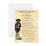 Wanted Cherokee Bill Greeting Cards (Pk of 10)