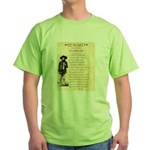 Wanted Cherokee Bill Green T-Shirt