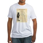 Wanted Cherokee Bill Fitted T-Shirt