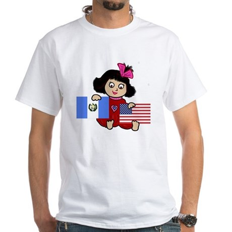 NEW! Guatemala Gal White T-Shirt