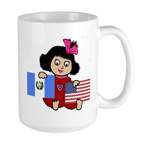 NEW! Guatemala Gal Large Mug