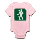 """Pacific Crest Trail Hiker"" Onesie"