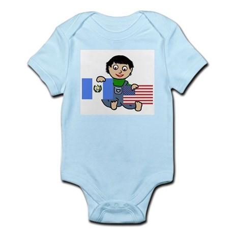 Guatemala Boy Infant Creeper