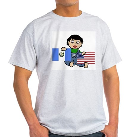 Guatemala Boy Ash Grey T-Shirt