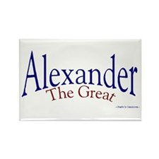 Alexander Rectangle Magnet