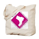 """PCT Goes Pink"" Tote Bag"