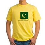 Pakistan Yellow T-Shirt