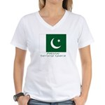 Pakistan Women's V-Neck T-Shirt