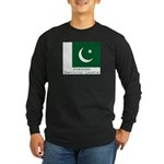 Pakistan Long Sleeve Dark T-Shirt