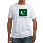 Pakistan Fitted T-Shirt