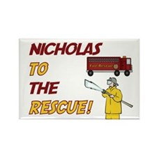Nicholas to the Rescue! Rectangle Magnet