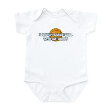 Minnesota Basketball Daddy Infant Bodysuit