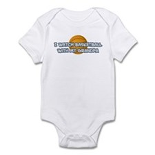 Minnesota Basketball Grandpa Infant Bodysuit