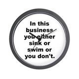 David smith quote Wall Clock