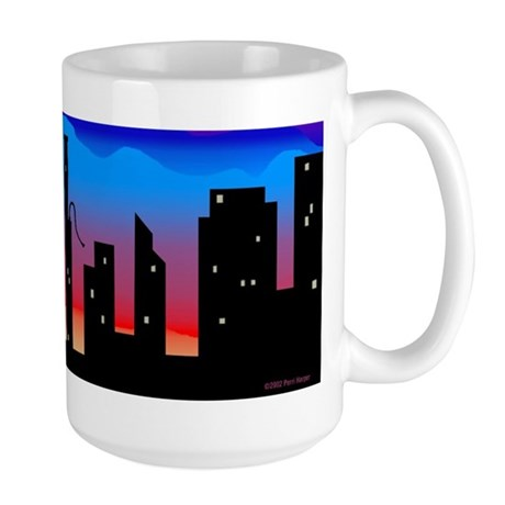 Large Bassoon Skyline Mug
