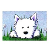 Smiling Spring Westie Postcards (Package of 8)
