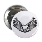 "Wrench-Feather 1 2.25"" Button (100 pack)"