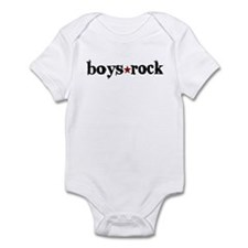 Boys Rock Infant Bodysuit