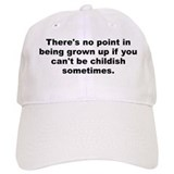Quotable quotes Baseball Cap