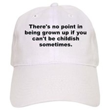 Funny Grown Baseball Cap