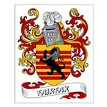 Fairfax Coat of Arms Small Poster
