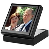 President George W. and Laura Bush Keepsake Box