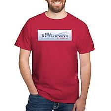 """Bill Richardson 2008"" T-Shirt"
