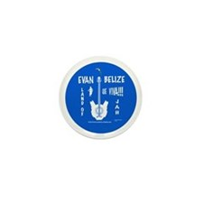 Evan Belize  mini button Creole blue(100 pack)