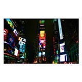 Times Square Rectangle Decal