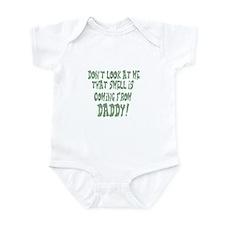 Daddy smells Infant Bodysuit