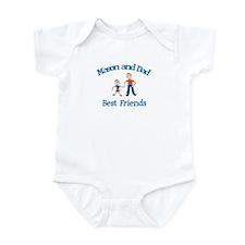 Mason & Dad - Best Friends  Infant Bodysuit
