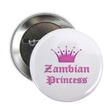 "Zambian Princess 2.25"" Button"