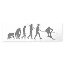Downhill Skiing Bumper Stickers