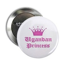 "Ugandan Princess 2.25"" Button"