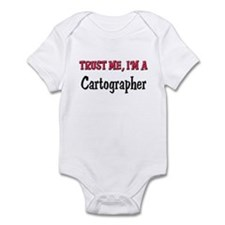 Trust Me I'm a Cartographer Infant Bodysuit