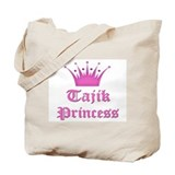 Tajik Princess Tote Bag