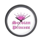 Serbian Princess Wall Clock