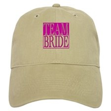 Team Bride -- Wedding Day Baseball Cap