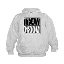 Team Groom -- Wedding Day Hoodie
