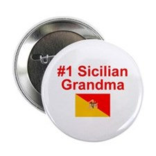 "#1 Sicilian Grandma 2.25"" Button"