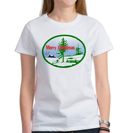 Winter Scene Women's T-Shirt