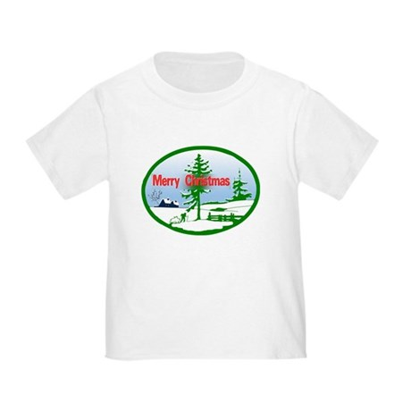 Winter Scene Toddler T-Shirt