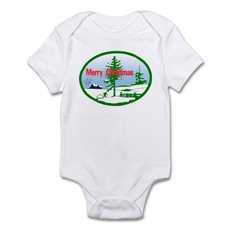 Winter Scene Infant Bodysuit