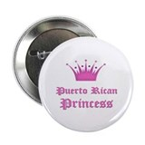 "Puerto Rican Princess 2.25"" Button"