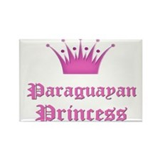 Paraguayan Princess Rectangle Magnet (10 pack)
