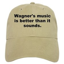 Wagner quote Baseball Cap