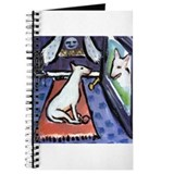 Bull Terrier sees Bull Terrie Journal