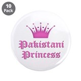 "Pakistani Princess 3.5"" Button (10 pack)"